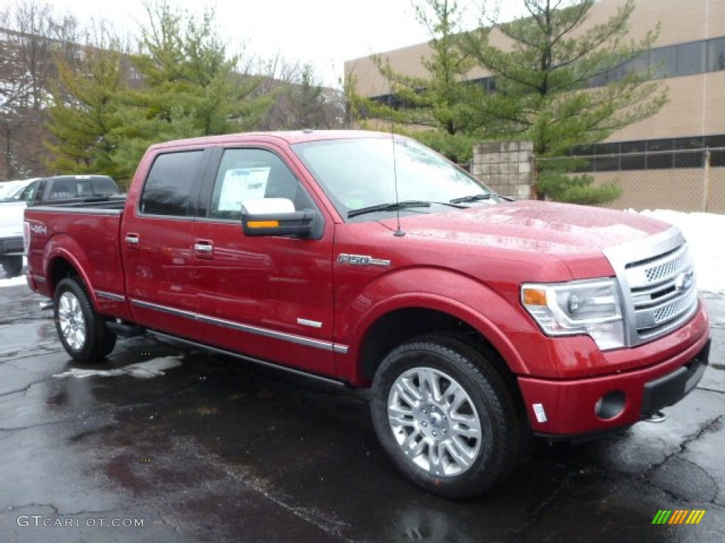 Ruby red metallic ford f150