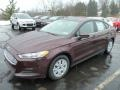 2013 Bordeaux Reserve Red Metallic Ford Fusion S  photo #5