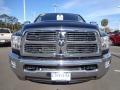 2010 Brilliant Black Crystal Pearl Dodge Ram 3500 Laramie Crew Cab 4x4  photo #14