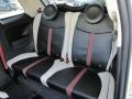Rear Seat of 2012 500 Gucci
