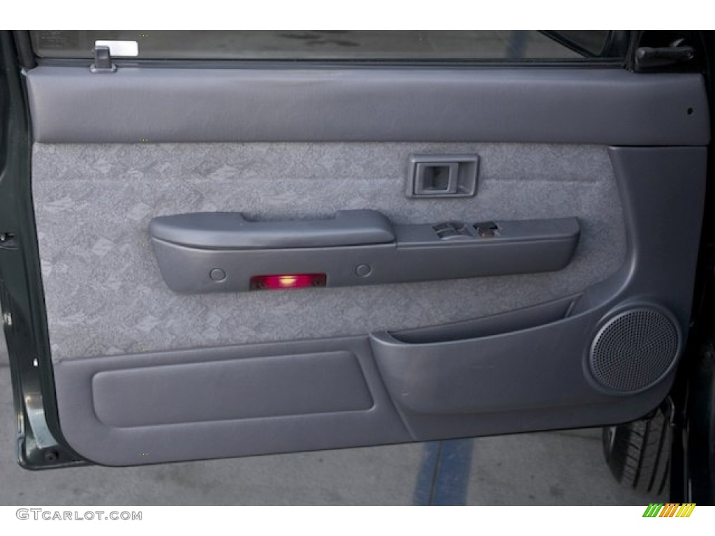 2000 Toyota Tacoma Prerunner Extended Cab Gray Door Panel