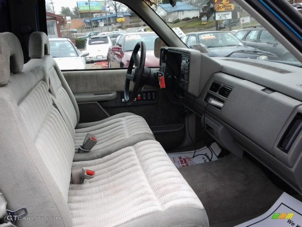 1993 gmc sierra 1500 sle regular cab interior photos
