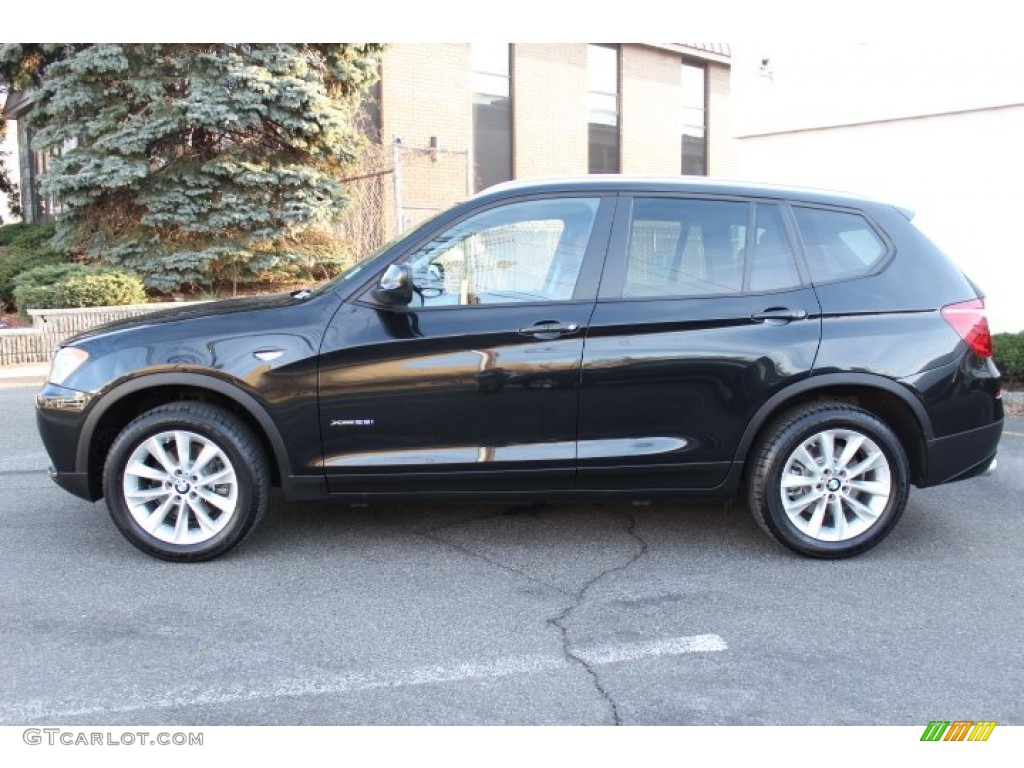black sapphire metallic 2013 bmw x3 xdrive 28i exterior photo 75843901. Black Bedroom Furniture Sets. Home Design Ideas