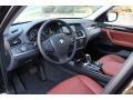 Chestnut 2013 BMW X3 Interiors