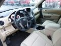 2012 Honda Pilot Beige Interior Prime Interior Photo