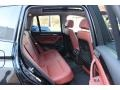 2013 BMW X3 Chestnut Interior Rear Seat Photo