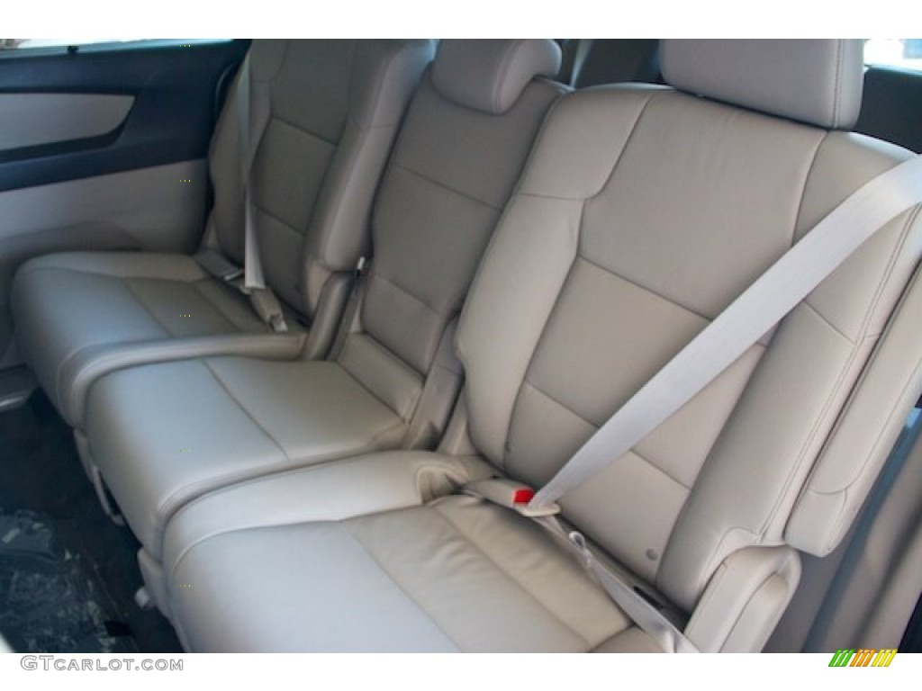 Beige Interior 2013 Honda Odyssey Touring Elite Photo #75848182 ...