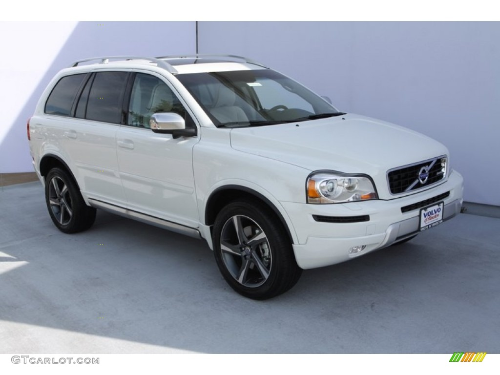 ice white 2013 volvo xc90 3 2 r design exterior photo 75848314. Black Bedroom Furniture Sets. Home Design Ideas