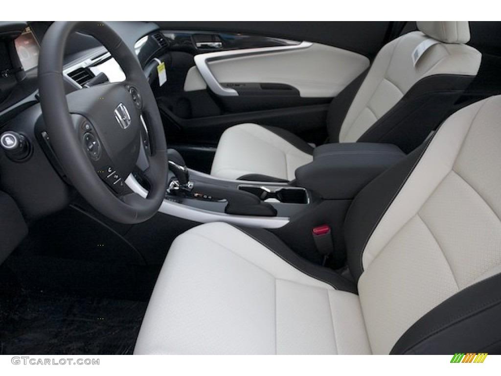 Black Ivory Interior 2013 Honda Accord Ex L V6 Coupe Photo 75851887 Gtcarlot Com