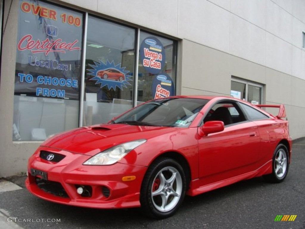2003 Absolutely Red Toyota Celica GTS 75786958  GTCarLotcom
