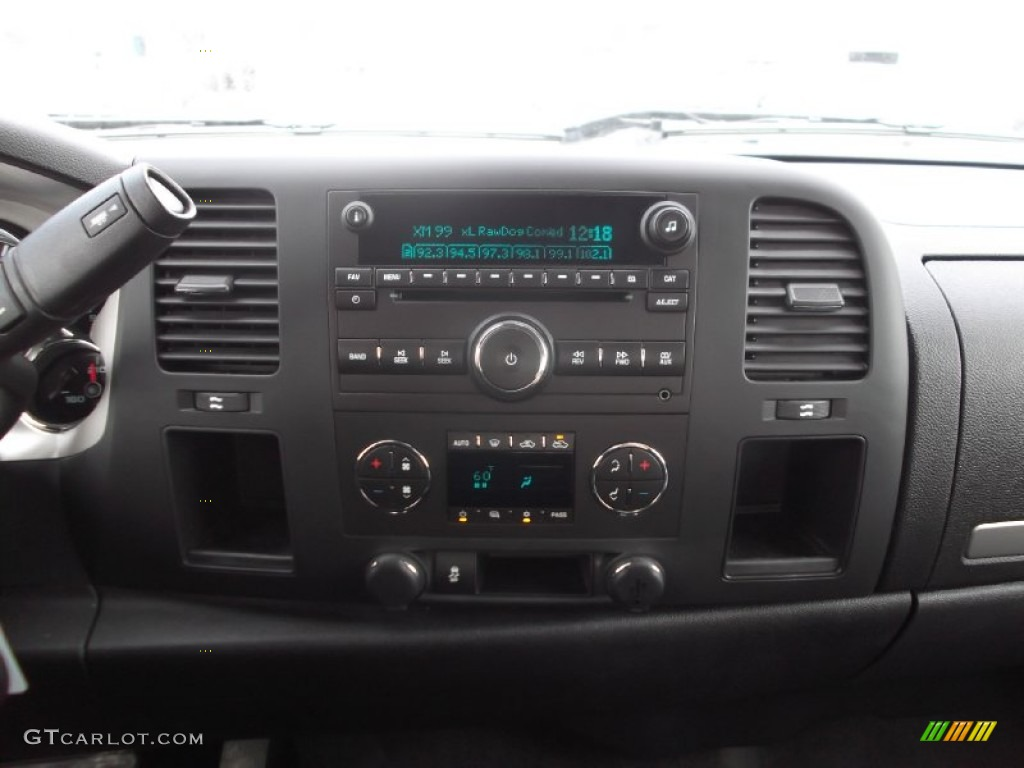 2012 Silverado 1500 LT Crew Cab - Blue Granite Metallic / Ebony photo #17