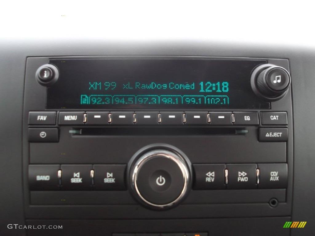 2012 Silverado 1500 LT Crew Cab - Blue Granite Metallic / Ebony photo #18