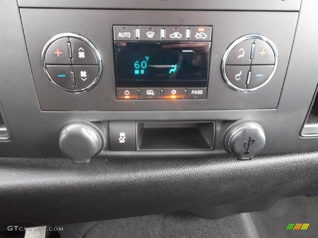 2012 Silverado 1500 LT Crew Cab - Blue Granite Metallic / Ebony photo #19