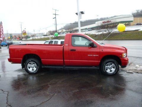 2002 Dodge Ram 1500 SLT Regular Cab 4x4 Data, Info and Specs
