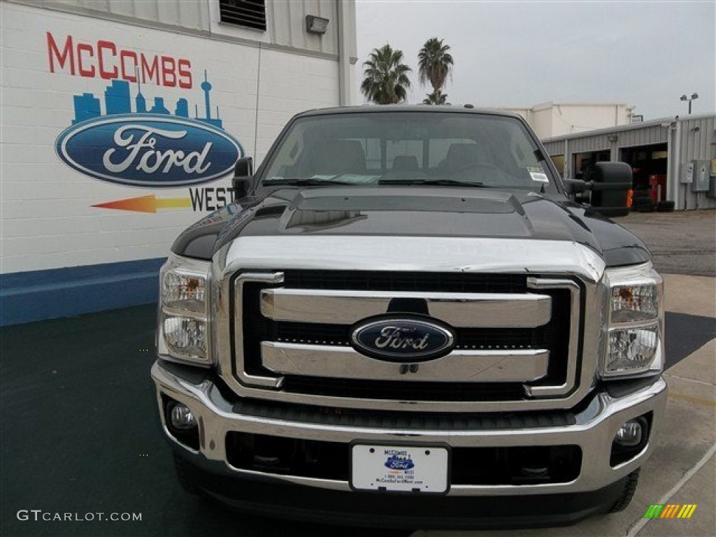 Kodiak Brown Metallic 2014 Ford F250 Super Duty King Ranch Crew Cab