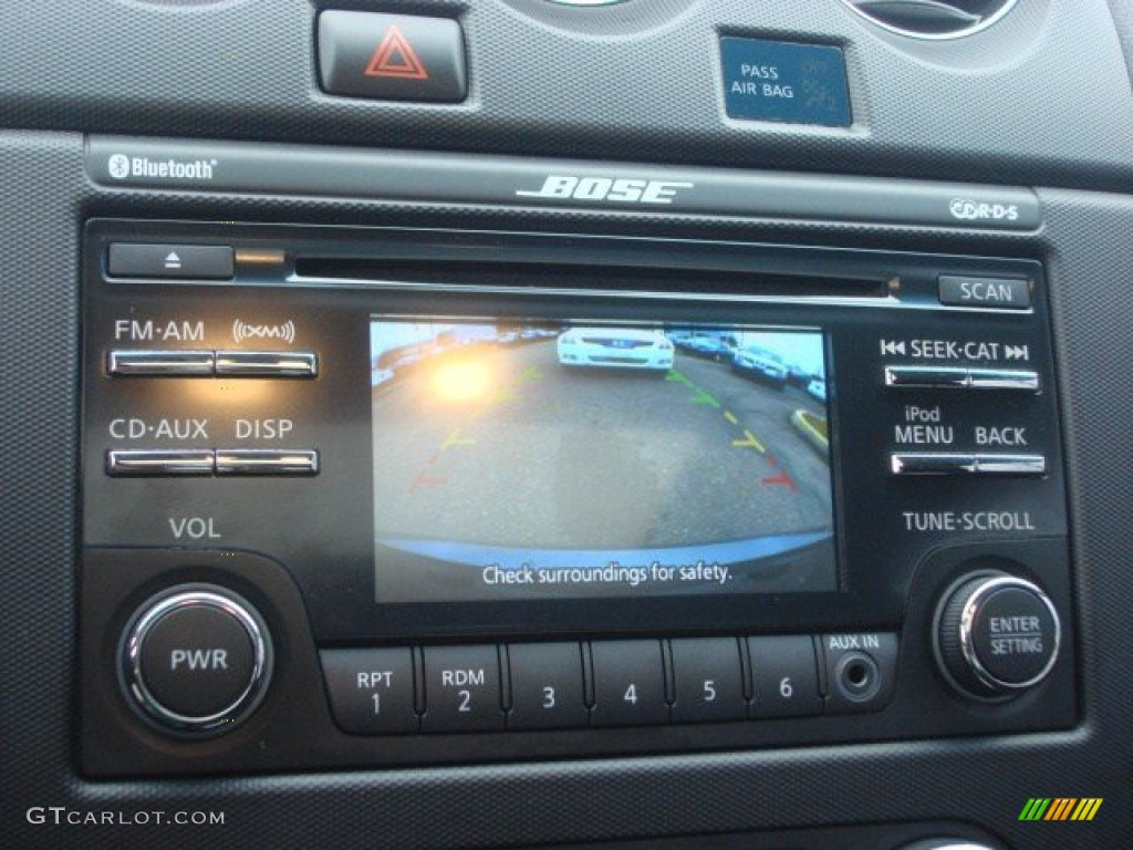 2012 Nissan Altima 2 5 S Coupe Audio System Photo
