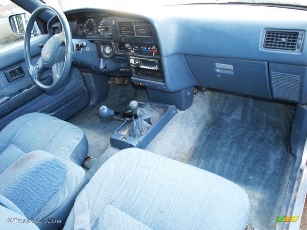 1989 toyota pickup deluxe extended cab 4x4 interior color photos