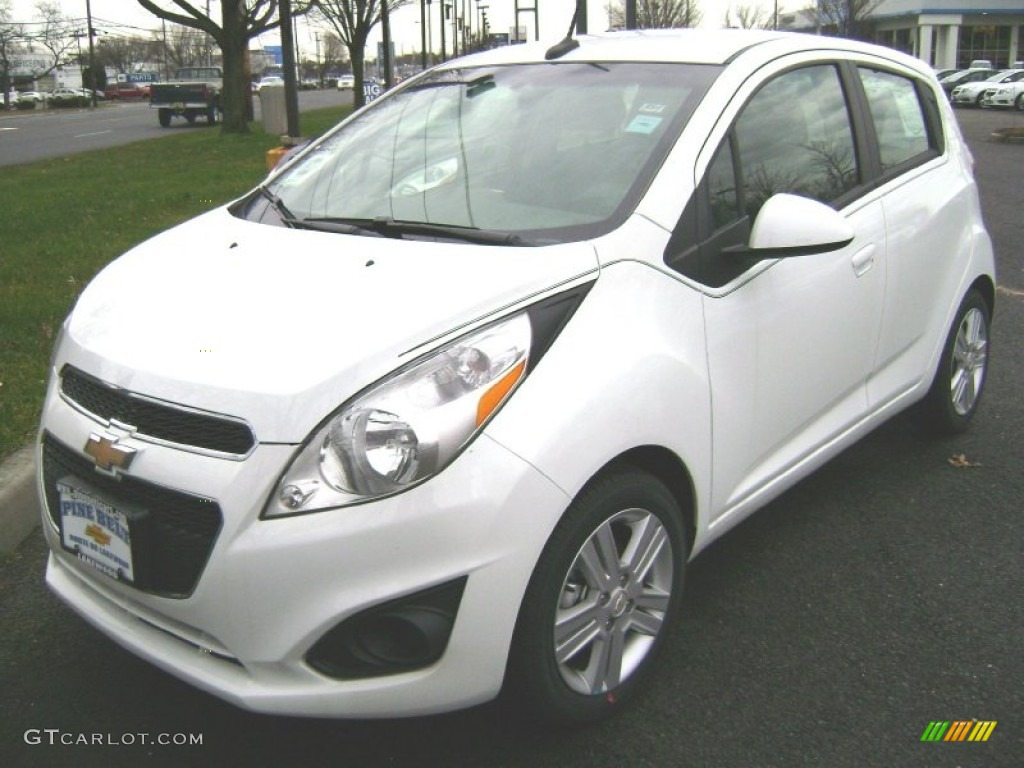 2013 Summit White Chevrolet Spark LT #75880634 | GTCarLot.com - Car ...