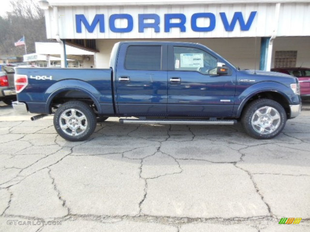 2013 blue jeans metallic ford f150 limited supercrew 4x4 for Blue jean paint color