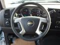 Ebony Steering Wheel Photo for 2013 Chevrolet Silverado 1500 #75896528