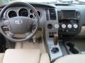 Sand Beige Dashboard Photo for 2010 Toyota Tundra #75898901