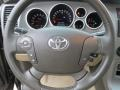 Sand Beige Steering Wheel Photo for 2010 Toyota Tundra #75898973