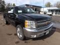 2013 Black Chevrolet Silverado 1500 LT Crew Cab  photo #7