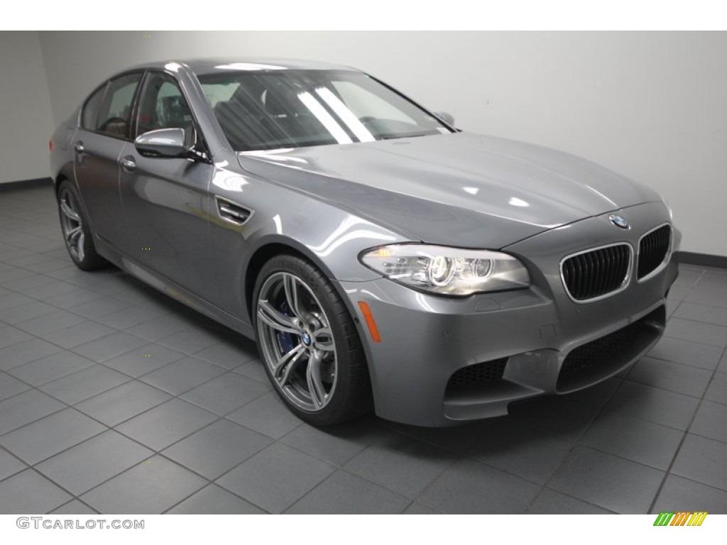 2013 Space Grey Metallic BMW M5 Sedan #75880991 | GTCarLot.com - Car Color Galleries