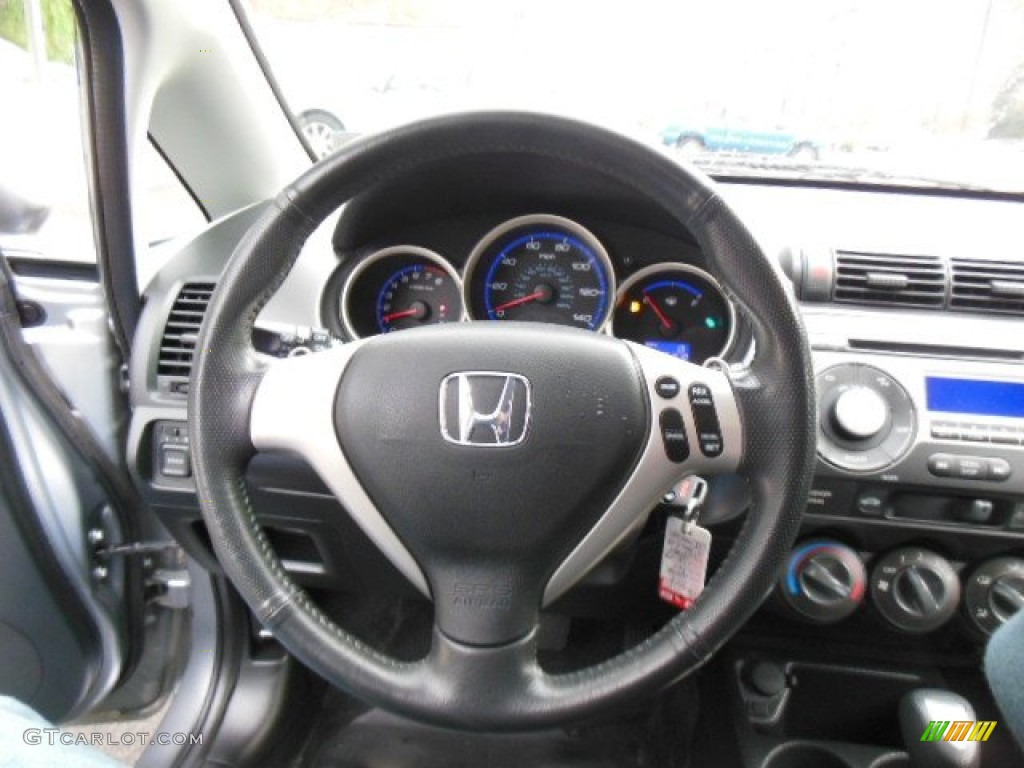 2008 honda fit sport steering wheel photos. Black Bedroom Furniture Sets. Home Design Ideas