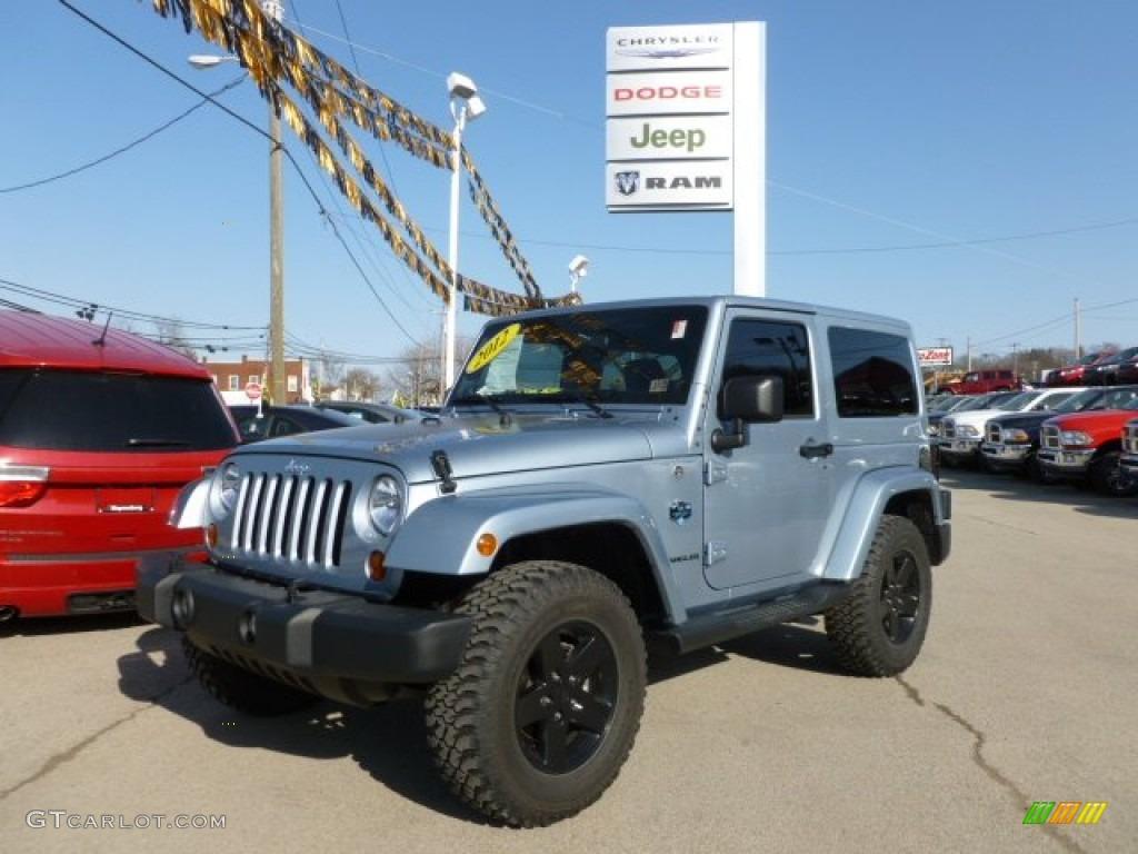 2012 Jeep Wrangler Sahara Arctic Edition 4x4 Exterior