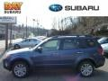 Marine Blue Pearl 2013 Subaru Forester 2.5 X Limited