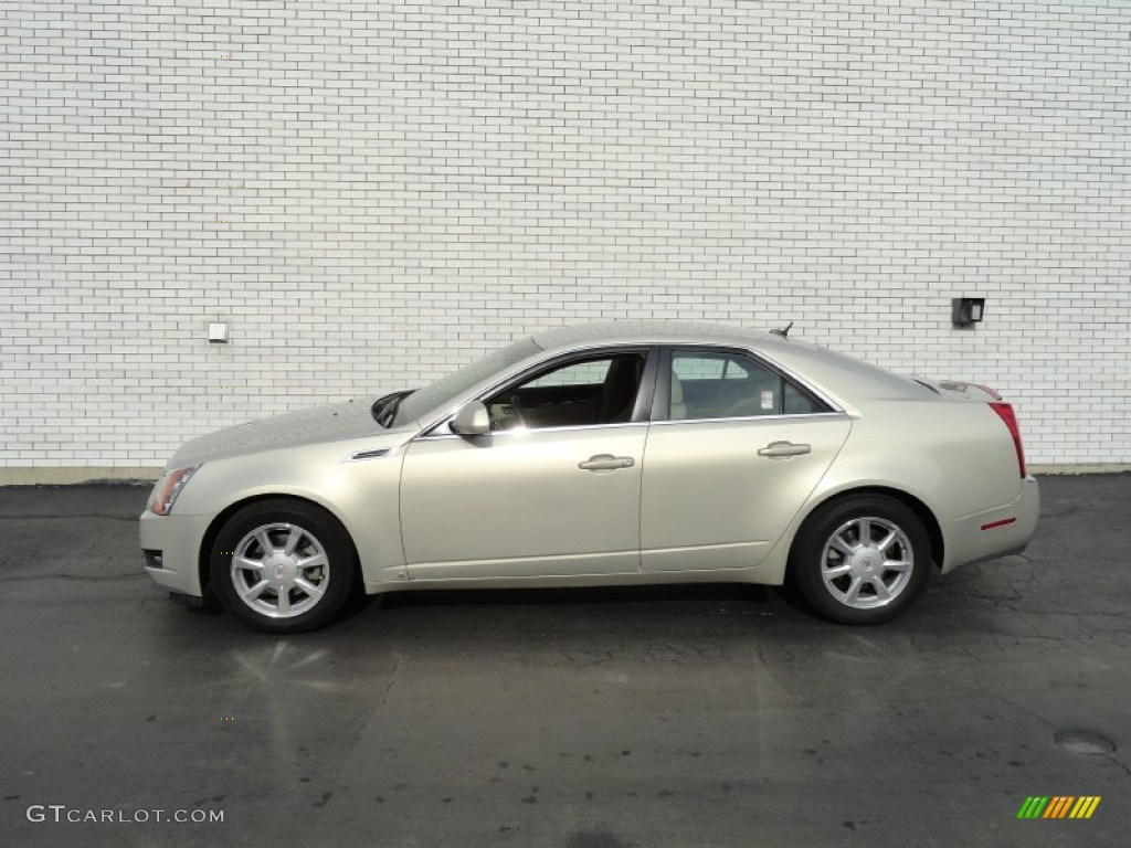 Gold Mist 2008 Cadillac Cts Sedan Exterior Photo 75934293