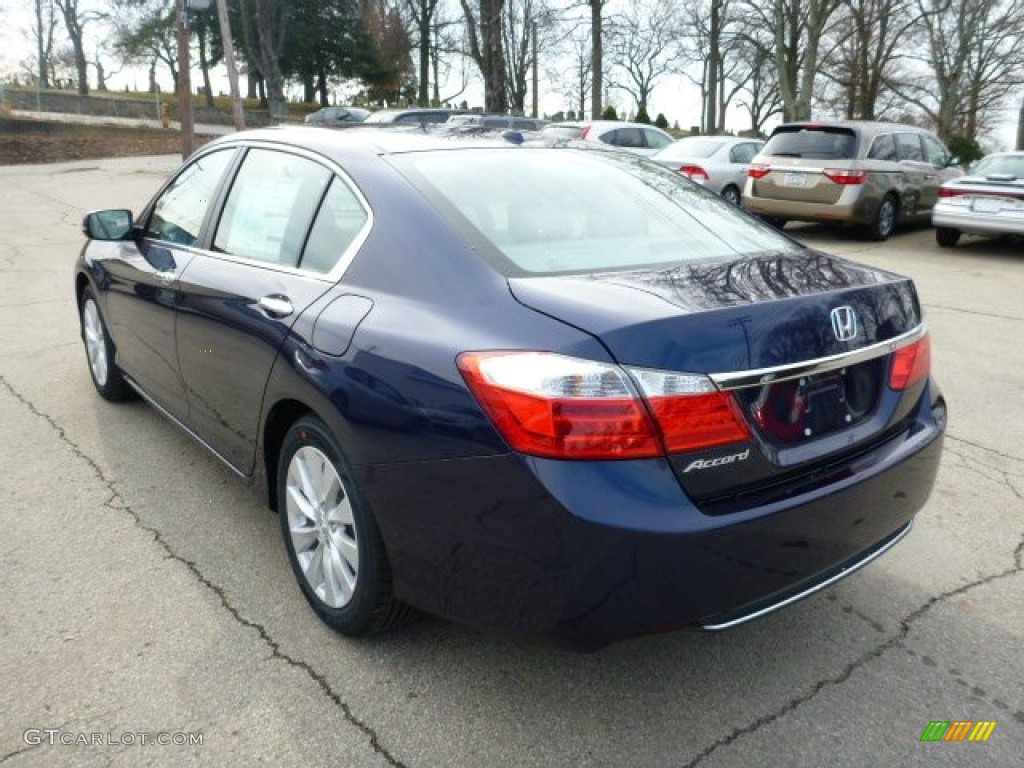 obsidian blue pearl 2013 honda accord ex l sedan exterior. Black Bedroom Furniture Sets. Home Design Ideas