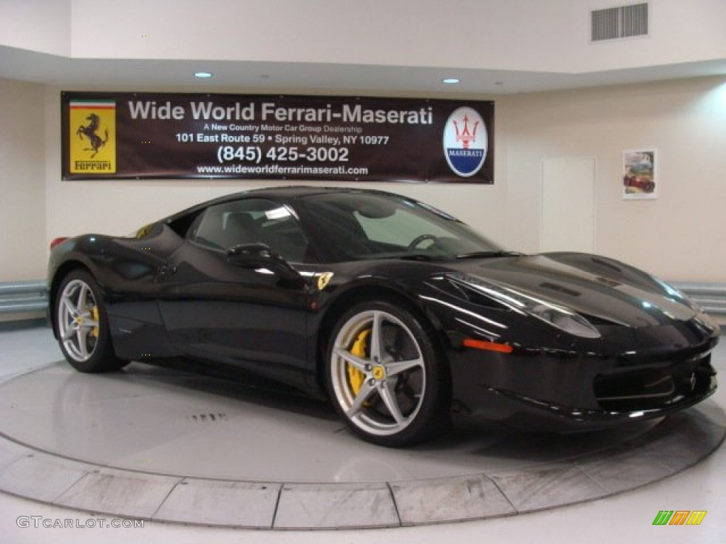 2011 Nero Black Ferrari 458 Italia 75924432 Gtcarlot Com Car Color Galleries
