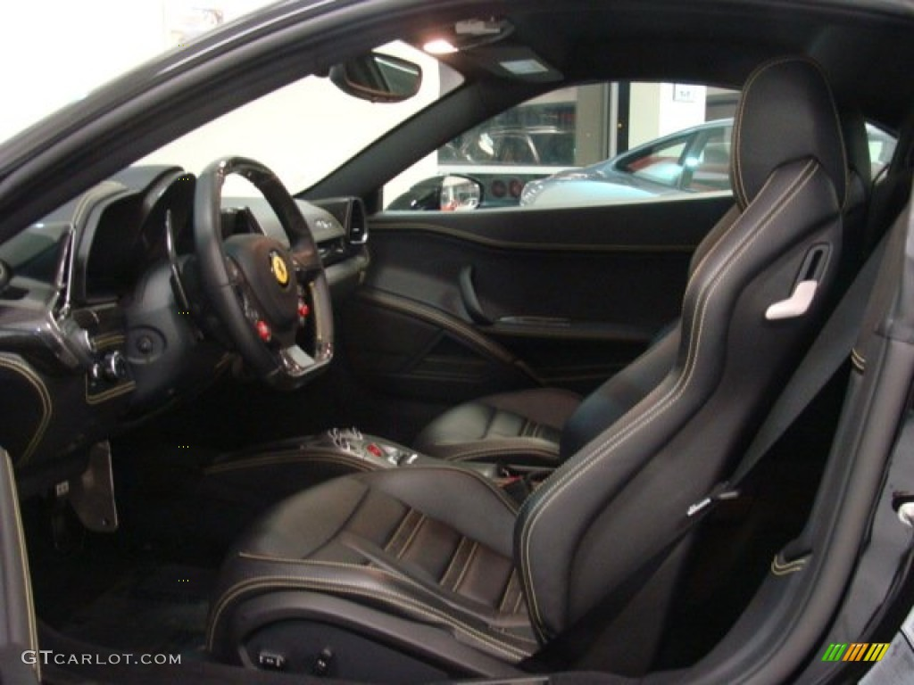Nero Black Interior 2011 Ferrari 458 Italia Photo 75939818 Gtcarlot Com