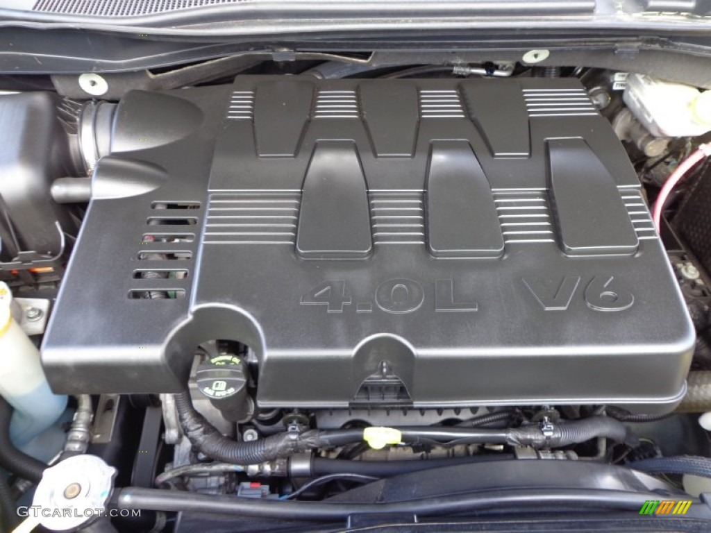 2010 Chrysler Town Amp Country Limited Engine Photos