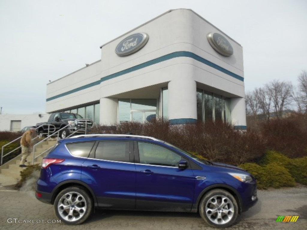 2013 ford escape titanium blue