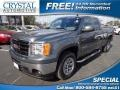 Gray Green Metallic 2011 GMC Sierra 1500 SL Extended Cab