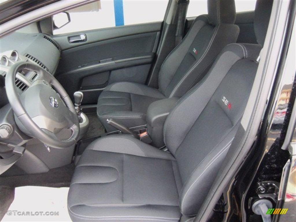 2012 nissan sentra se r spec v front seat photo 75952203. Black Bedroom Furniture Sets. Home Design Ideas