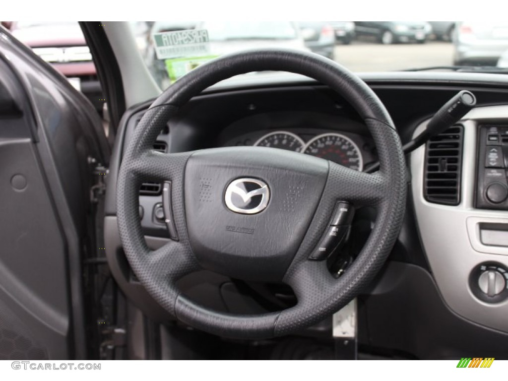 2004 mazda tribute lx v6 4wd steering wheel photos. Black Bedroom Furniture Sets. Home Design Ideas