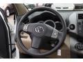 Sand Beige Steering Wheel Photo for 2011 Toyota RAV4 #75954669