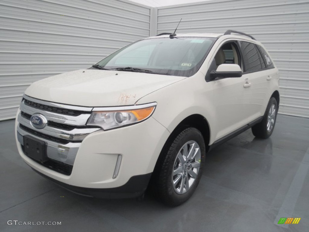 white suede 2013 ford edge sel exterior photo 75971659. Black Bedroom Furniture Sets. Home Design Ideas