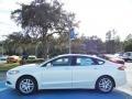 2013 Oxford White Ford Fusion SE  photo #2
