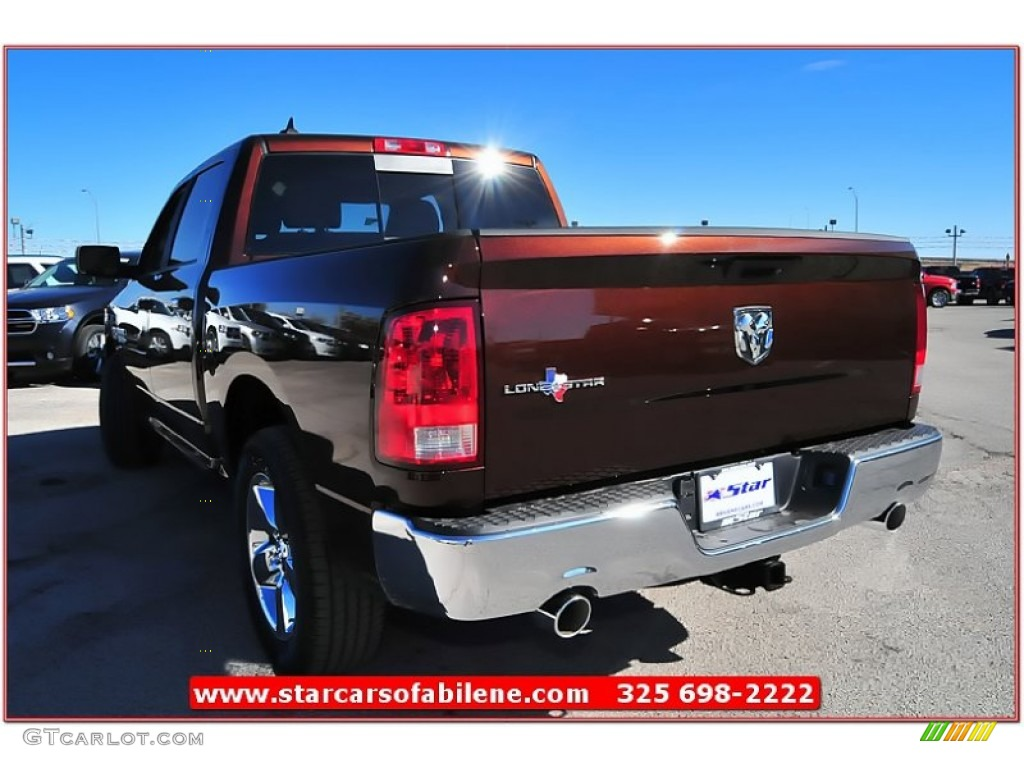 2017 1500 Lone Star Crew Cab Western Brown Pearl Canyon Light Frost