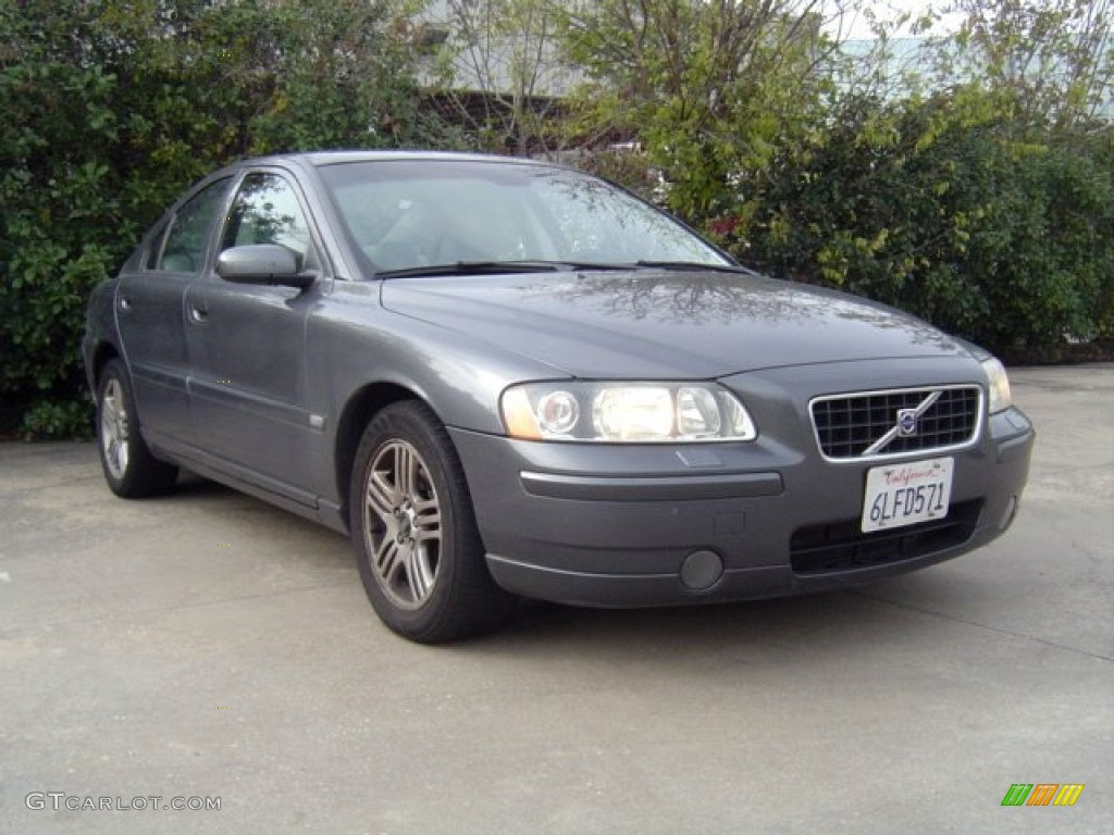 titanium gray metallic 2006 volvo s60 2 5t exterior photo. Black Bedroom Furniture Sets. Home Design Ideas