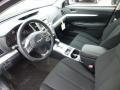 Black 2013 Subaru Legacy Interiors