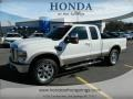 White Platinum Tri-Coat 2010 Ford F250 Super Duty Gallery