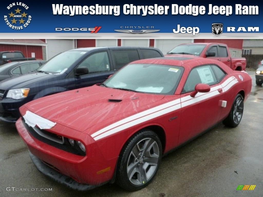 2013 Challenger R/T Classic - Redline 3-Coat Pearl / Dark Slate Gray photo #1