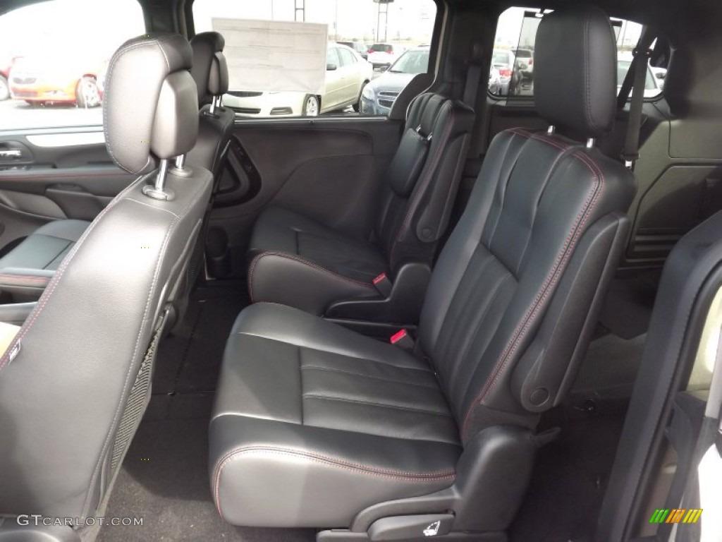 Black Interior 2013 Dodge Grand Caravan R T Photo 76001962