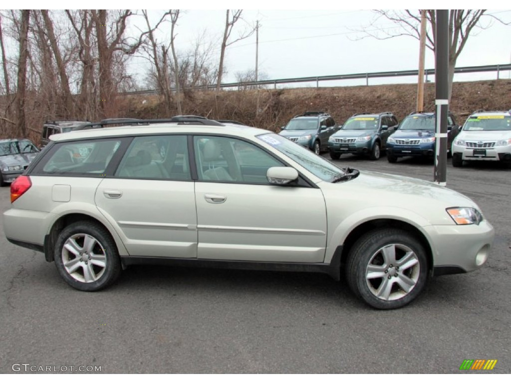 Champagne Gold Opal 2005 Subaru Outback 3 0 R Vdc Limited